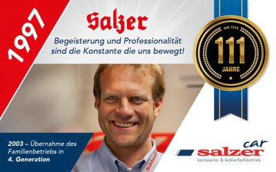 Stephan Salzer – seit 1997 im Betrieb tätig