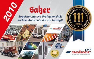 2010 – 100 Jahre Salzer