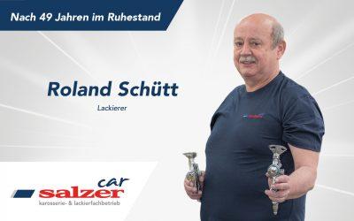 Roland Schütt –Nach 49 Jahren im Ruhestand