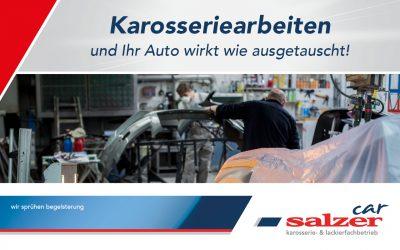 Karosseriearbeiten und Ihr Auto wirkt wie ausgetauscht!
